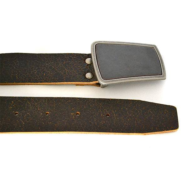 PHILLIP - Mens Brown Leather Belt - CLEARANCE  - Belt N Bags