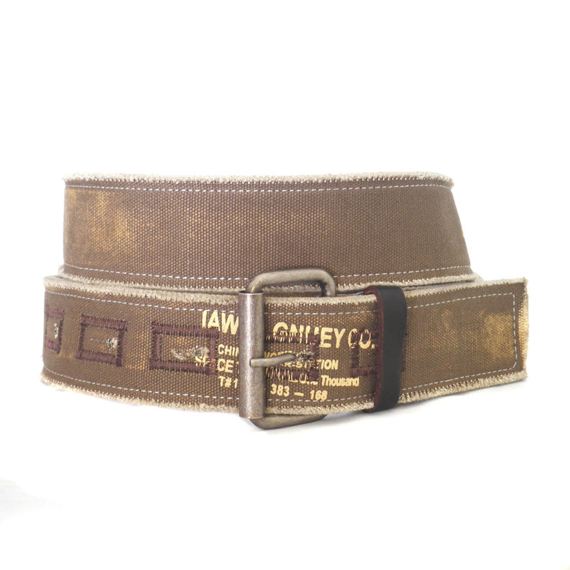 RAMIREZ - Mens Khaki Cotton Belt - BeltNBags