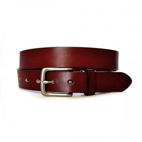 RUSSELL - Unisex Tan Genuine Leather Belt