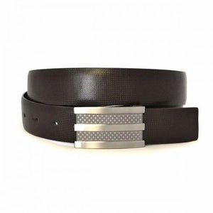 RAFAEL - Mens Black and Brown Leather Belt - BeltNBags