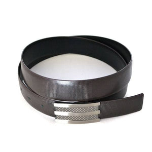 RAFAEL - Mens Black and Brown Leather Belt  - Belt N Bags