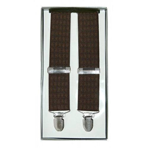 RONALD - Mens Brown Fashion Braces