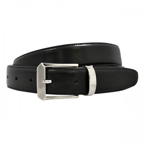 GAVIN - Boys Black Genuine Leather School Belt - Belt N Bags