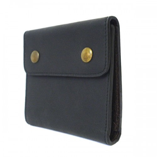 SPIRO - Mens Black & Brown Leather Wallet in Gift Box  - Belt N Bags