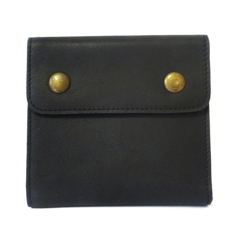SPIRO - Mens Black & Brown Leather Wallet in Gift Box - BeltNBags