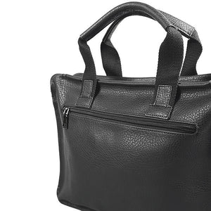SIMON - Mens Genuine Leather Laptop Satchel Bag