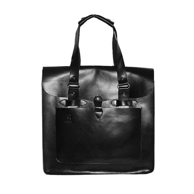 SIMPSON - Mens Black Leather Business Bag
