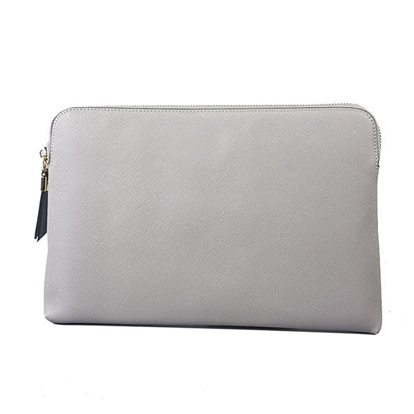 SORRENTO-Storm Structured Saffiano Clutch - BeltNBags