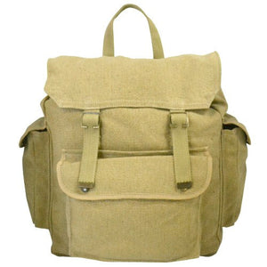GIBSON Khaki Canvas backpack bag BeltNBags