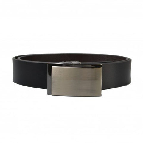 TONY - Mens Bonded Reversible Belt in Black & Brown