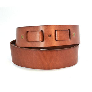 VICTOR - Mens Tan Genuine Leather Belt - BeltNBags