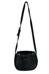 BERRY -  Womens Leather Saddle Crossbody Bag  - Belt N Bags