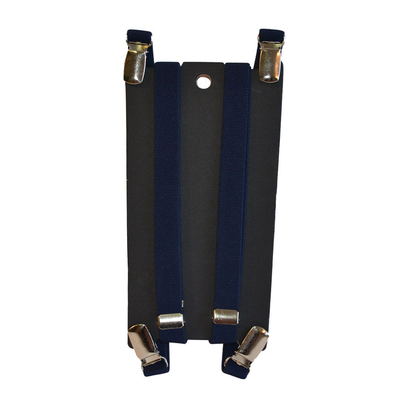 THOMAS - Mens Navy Braces  - Belt N Bags