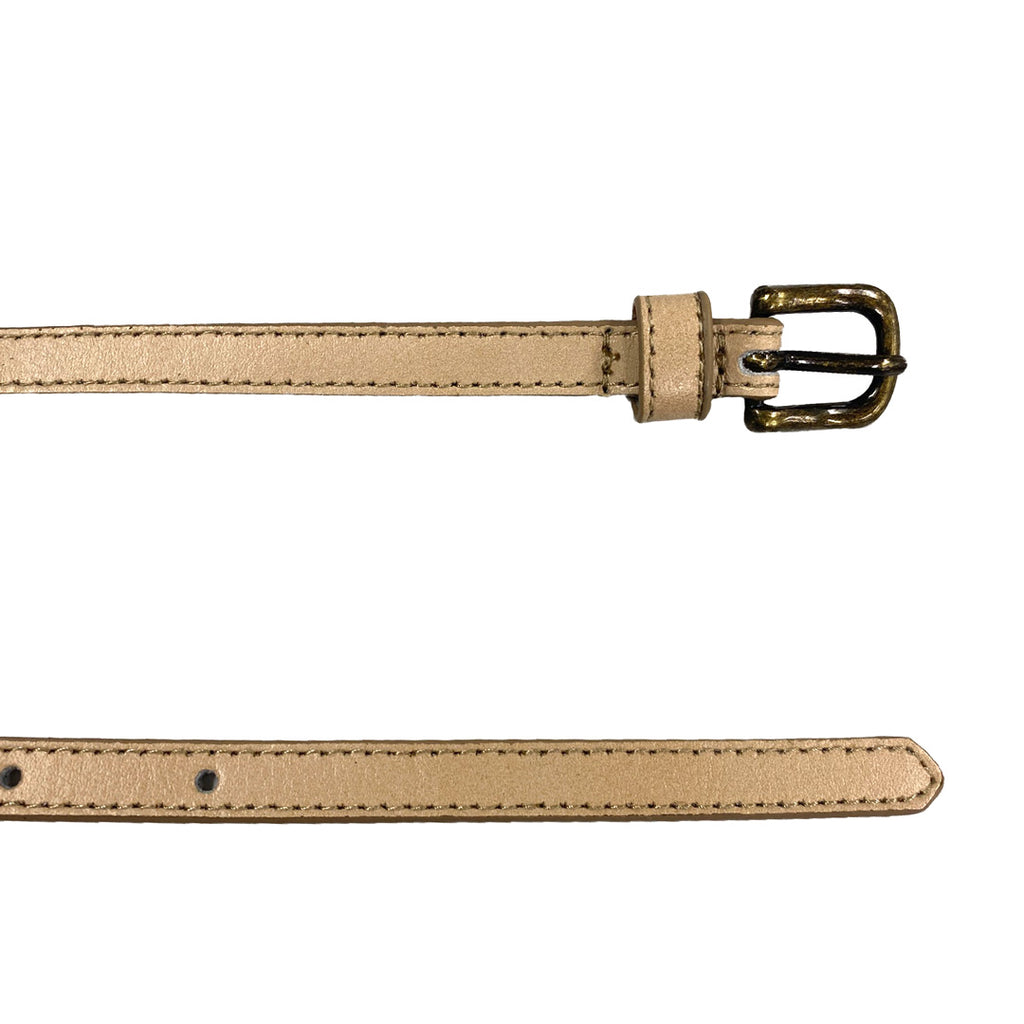 GYPSY - Nude PU Leather Girls Belt