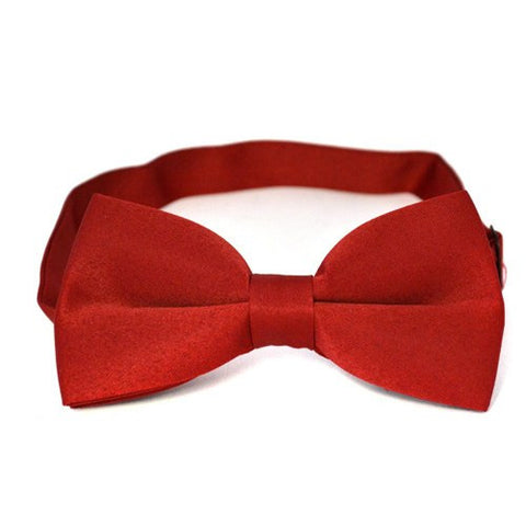 JAYDEN - Mens Burgundy Bow Tie