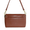 LISMORE-  Brown Crocodile Look Leather Cross Body Clutch  - Belt N Bags