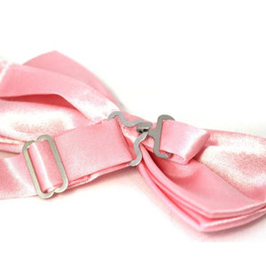 OWEN - Mens Pink Bow Tie  - Belt N Bags