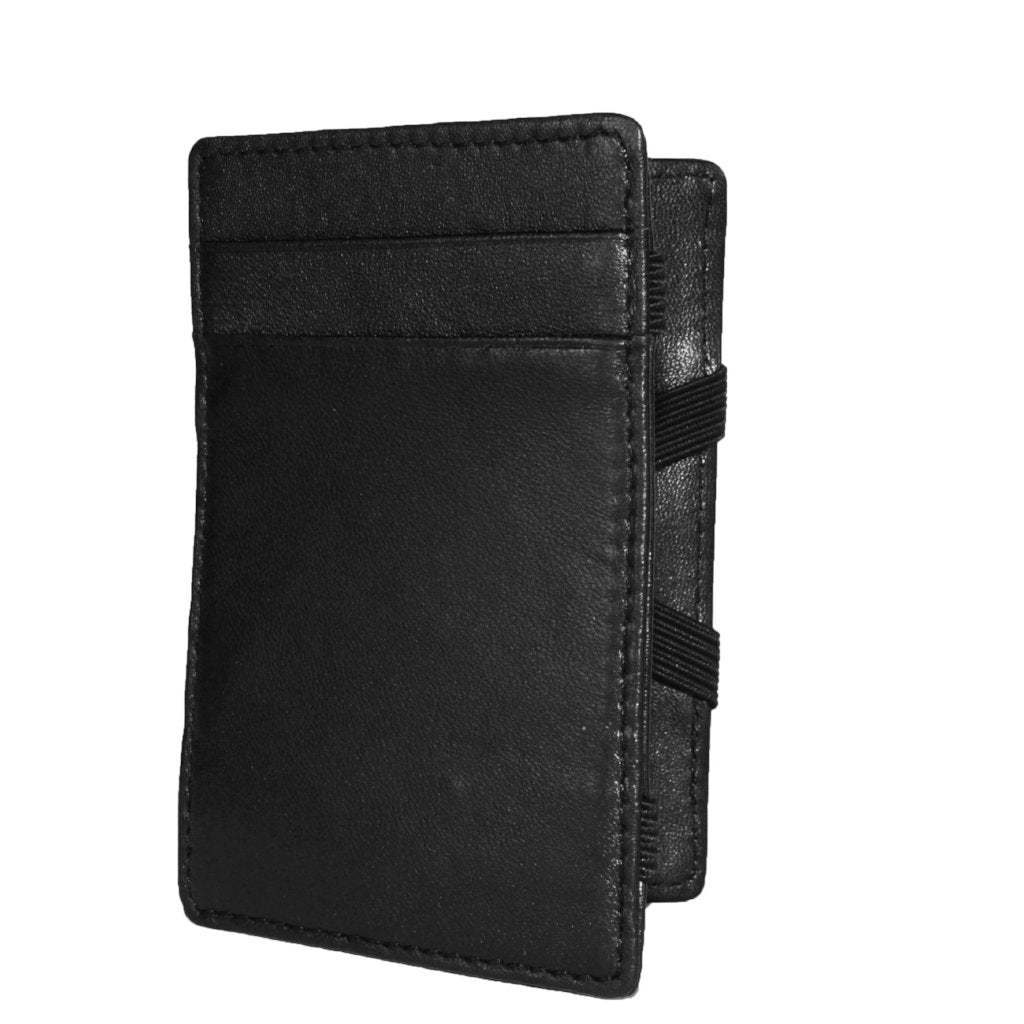Philip - Mens Black Magic Flip Wallet  - Belt N Bags