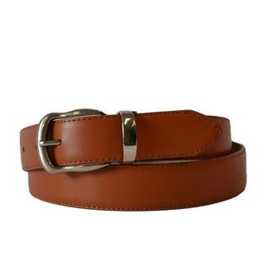 TENNYSON - Men's Tan Genuine Leather Belt  - Belt N Bags