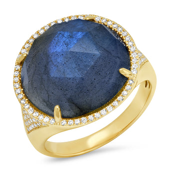 Labradorite Cocktail Ring | Harrisons Collection