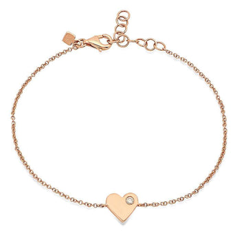 Heart Chain Bracelet | Harrisons Collection