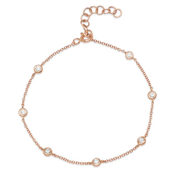 Diamond By The Yard Bracelet | Harrisons Collection