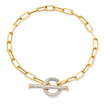 Diamond Toggle Bracelet | Harrisons Collection
