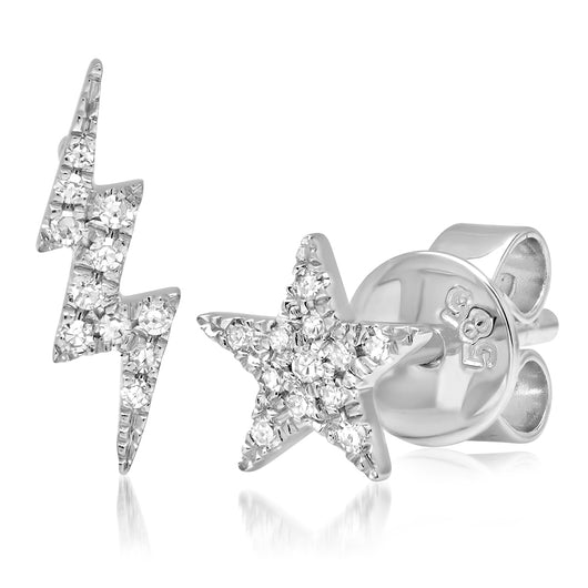 Diamond Star and Lighting Stud | Harrisons Collection