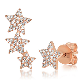 Diamond Star Stud & Climber | Harrisons Collection