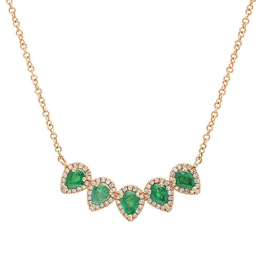 Mini Pear Shape Necklace | Harrisons Collection