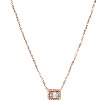 Diamond Illusion Necklace | Harrisons Collection