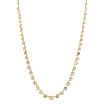 Diamond Tennis Necklace | Harrisons Collection