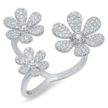 Jumbo Flower Ring | Harrisons Collection
