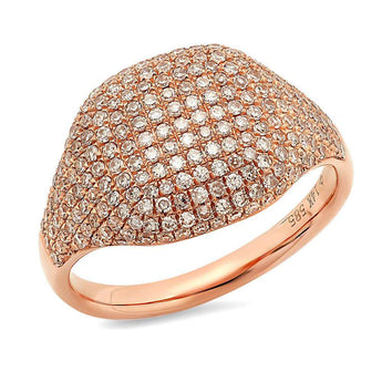 Diamond Pinky Ring | Harrisons Collection