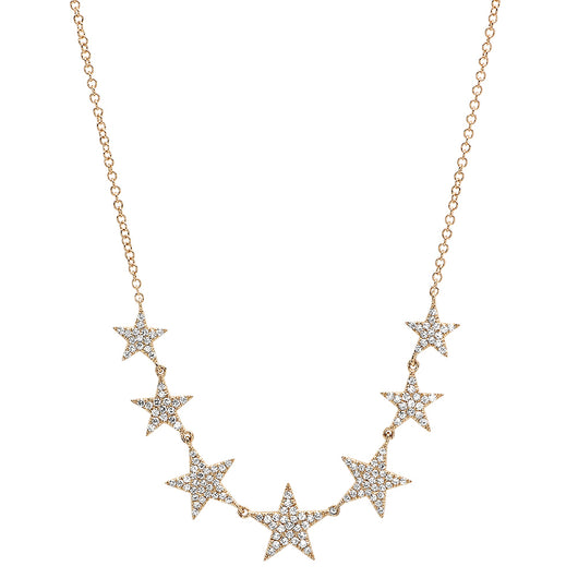 Diamond Star Necklace | Harrisons Collection