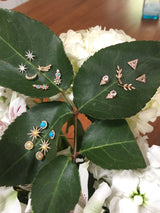 Leaf Studs | Harrisons Collection