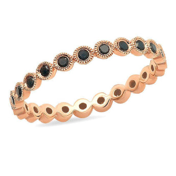Black Diamond Eternity Band | Harrisons Collection