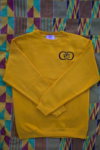 CRC Crewneck Sweatshirt Yellow