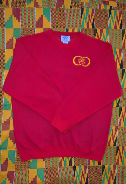 CRC Crewneck Sweatshirt Red