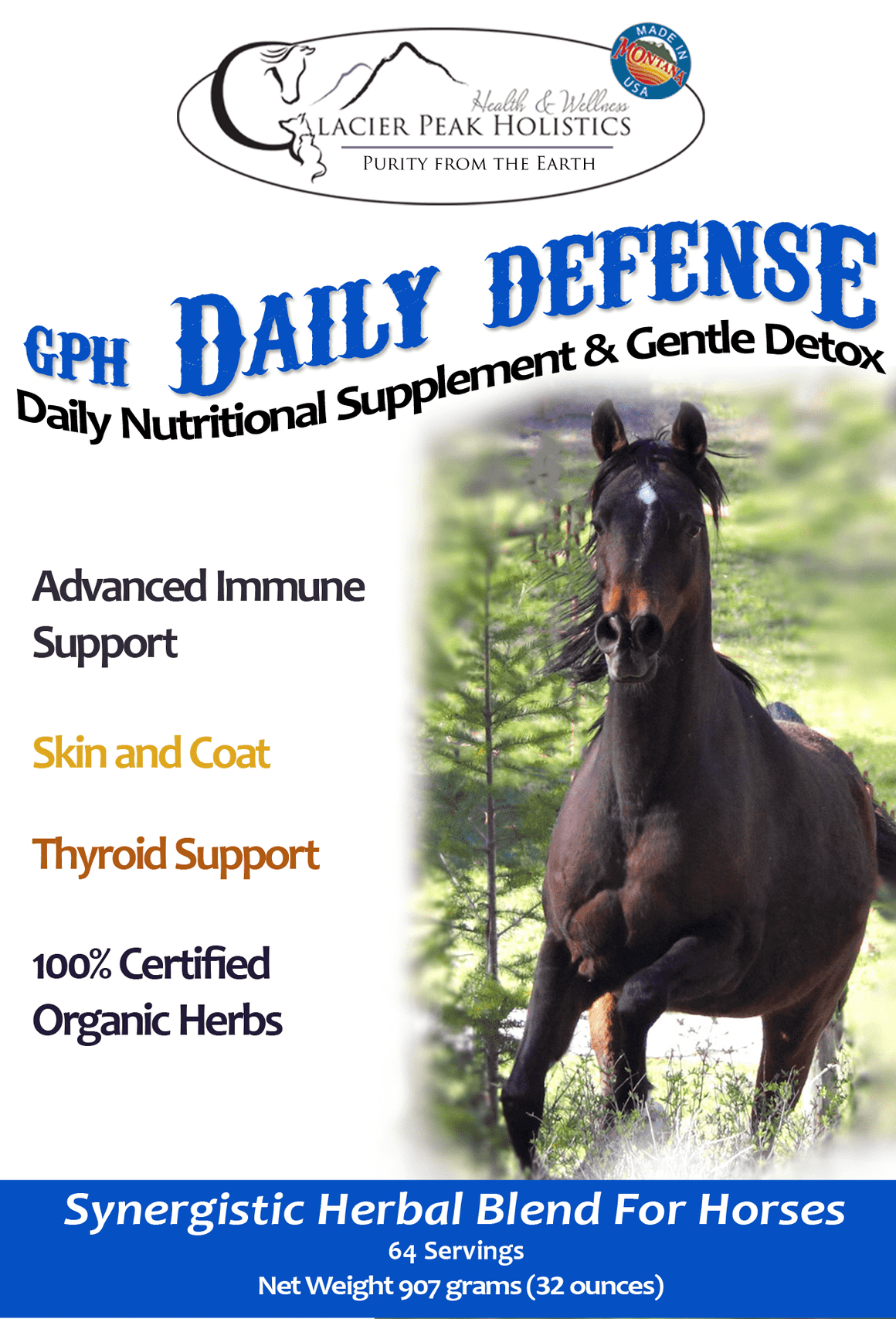 GPH Daily Defense Powder for Horses