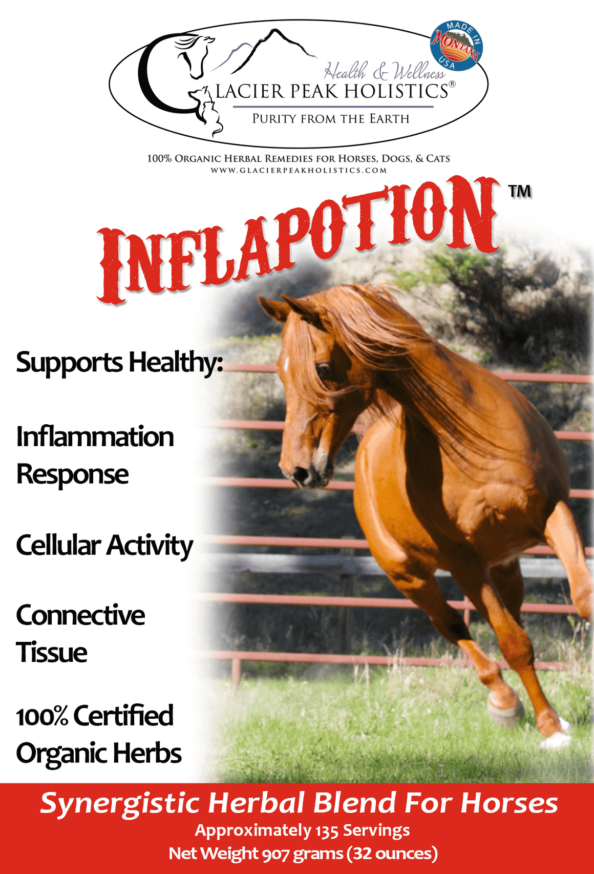 Inflapotion Powder For Horses