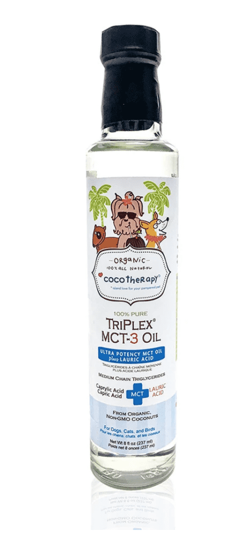 TriPlex™ MCT (Coconut) Oil for dogs and cats
