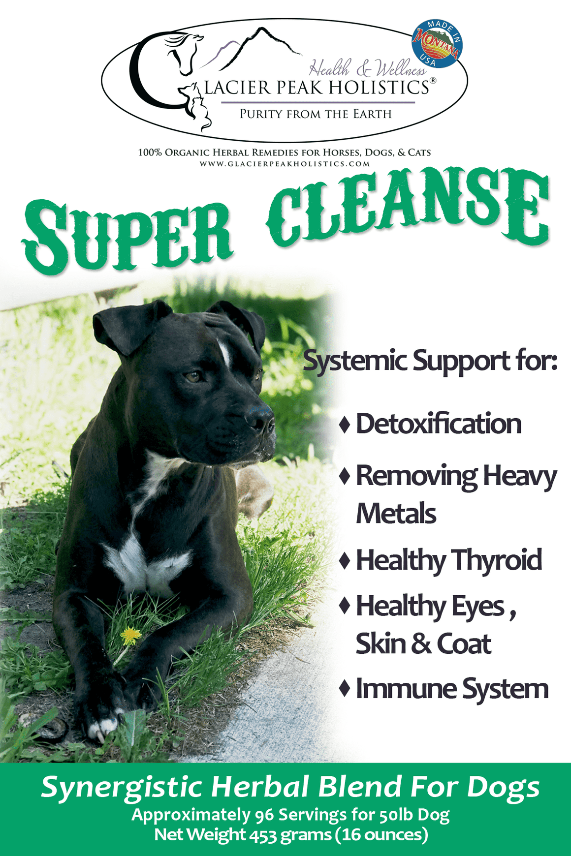Sample size Super Cleanse