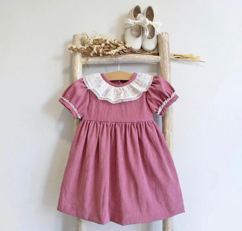 Sienna pink raspberry dress