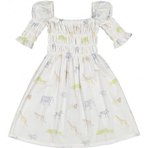 Safari girl dress