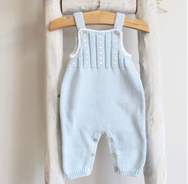 Blue cotton overall