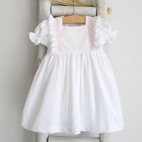 Penelope smocked dress
