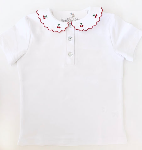 T-shirt short sleeves - Cherry