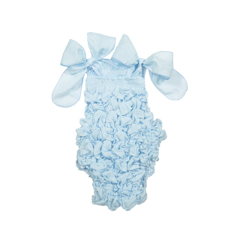 baby Blue plumetti swimsuit
