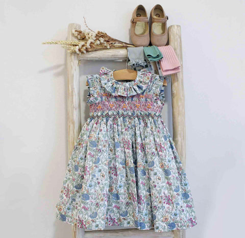 Miranda flowers dress-Liberty print